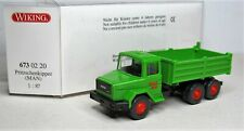 Wiking 1:87 Iveco Magirus 260-25 ANW Stahlpritschenkipper OVP 673 02 Wimo Bau