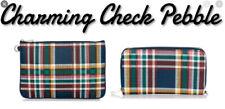 Thirty-One Wallet & Rubie Mini Set Charming Check Pebble Strap NEW 31