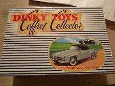 Coffret collector dinky toys atlas ref : 24FH  les prototypes de 1958