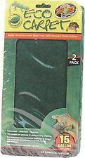 """Zoo Med Cc-15 Reptile Cage Carpet 24""""L x 12""""W soft non-abrasive absorbent Liner"""