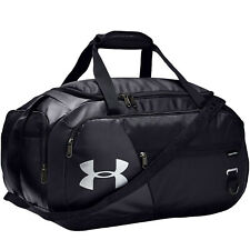 Under Armour Unisex Undeniable 4.0 Small Gym Sports Duffel Holdall Bag - Black