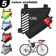 Bicycle Triangle Bag Bike Frame Front Tube Water resistant Cycling Pouch Large