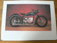 BMW 75 JAHRE MOTORRAD POSTER ART COLLECTION BMW R 51/3 1951-1954 MOTORCYCLE
