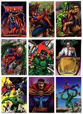 1994 Fleer Flair Marvel X-Men Base Card You Pick Finish Your Set Venom Deadpool