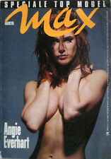 MAX 8 1991 Angie Everhart Naomi Campbell Hoyt Richards Julie Anderson Olaz Lopez