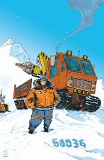 "Original LEGO Art City Arctic Base Camp 60036 11""x17"" Poster"