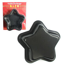 Mini Baking Pan Mold Metal Star Cookie Cutter Cake Fondant Mould Metal Tin Decor