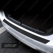 Car Accessories Rear Bumper Trunk Tail Lip Protect Carbon Fiber 4d Black Sticker