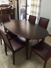 Timber Extending Dining Furniture Sets