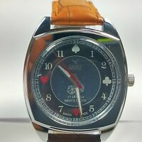 Vintage Camy Mechanical Hand Winding Movement Dial Wrist Watch For Mens A40