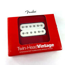 Genuine Fender Twin Head Vintage Bridge Humbucker Pickup Parchment 099-2217-105