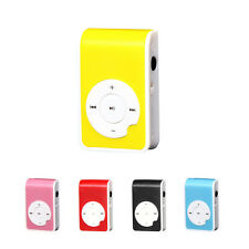 Fashion Mini Clip Metal USB MP3 Player Support 32G Micro SD TF Card Music Media
