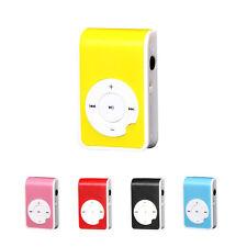 MODA MINI METALLO USB MP3 LETTORE SUPPORTO 32G MICRO SD TF Scheda Music Media