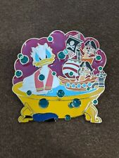 Disney Store Online Bath Time Fun Series Donald Duck Chip and Dale Le250 Pin