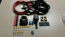 Split Charge Relay and Fitting Kit 5M Power Cable - Auto Charge Leisure Battery