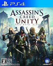 Used PS4 Assassin's Creed Unity  SONY PLAYSTATION 4  JAPANESE JAPONAIS IMPORT