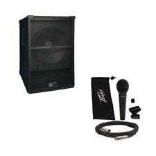 "Peavey SP 118 Pro Audio DJ Passive 2400W 18"" PA Sub Subwoofer & PVi 100 Mic New"