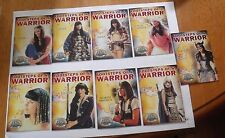 Xena Footsteps of a Warrior card set FW1-FW9  set complete insert cards