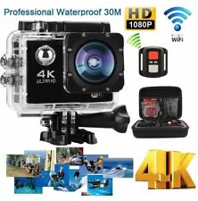 4K Ultra HD Sports Camera WIFI Helmet Mini DV Carry Case Bundle Action Camcorder
