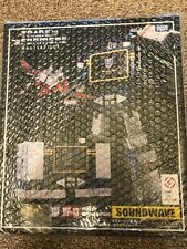 Transformers Masterpiece MP-13 Soundwave G1 Action Figure Toy Takara Tomy MISB