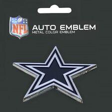 Dallas Cowboys Heavy Duty Metal 3-D Color Auto Emblem