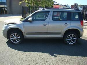 SKODA YETI LEFT FRONT DRIVESHAFT AUTO 1.2LTR PETROL TSI, 5L, 09/11-12/17