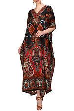 Kaftan Tunic Kimono Dress Ladies Summer Women Evening Maxi Party Plus Size Dress