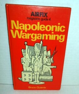 Airfix Magazine Guide 4 Napoleonic Wargaming op 1974 1st General Era Ref + Rules