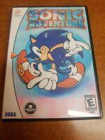 Sonic Adventure (Sega Dreamcast, 1999)(Tested)