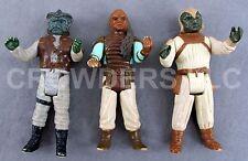 Vintage Star Wars 1983 Klaatu Weequay & Skiff Guard Klaatu 3.75 In Loose Figures