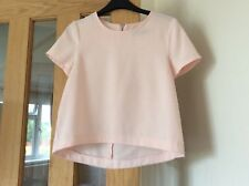 Nude top size 6 Dorothy perkins