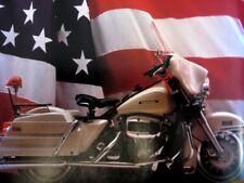 1982 1983 Harley Davidson Police Brochure Electra Glide Sidecar FLH-80 FLHT-80