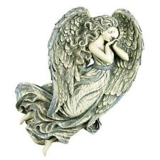 """Gorgeous Angel of Peace Glittered Wings Wall Art 15 X 13 X 3"""" Angel Collectible"""