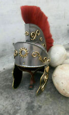 Medieval Collectibles Templar Hand Forged Steel Roman Spartan Helmet Reproductio