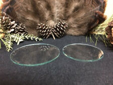 "Clear 3"" & 3.5"" Glass Disc for Friction Pot Turkey Calls   "" ""Build Your Own """