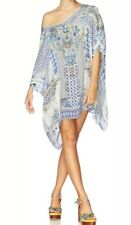 New Camilla Franks Salvador Summer Short Round Neck Kaftan O/S One Size Holiday