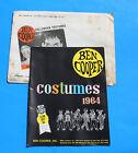 1964 BEN COOPER HALLOWEEN COSTUME CATALOG * UNIVERSAL MONSTERS DRACULA, SUPERMAN