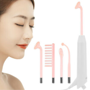 High Frequency Device Violet Ray Facial Machine Acne Remover Glass Tube Massage