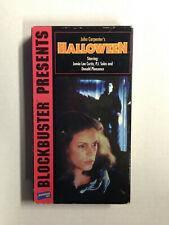 Halloween [VHS] 1995 blockbuster presents john carpenter's