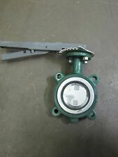 """STOCKHAM LD-914-SS3-5 3"""" HIGH PERFORMANCE GAS BUTTERFLY VALVE S/S 200CWP PSI"""