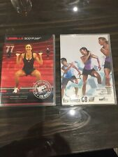Les Mills Body Pump And Body Step X 2 DVDs & 2 X CDs