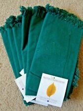 Cloth napkins, Set of 6, New, green