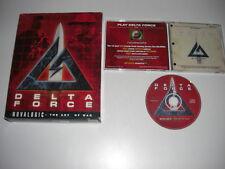 Delta Fuerza 1 PC CD ROM Original Caja Grande-Fast Secure Post