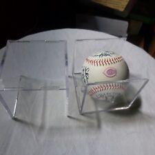 2010 MLBP Cincinnati Reds Collectors Team Signed Autoball & Case