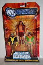 DC Universe Justice League Unlimited___BLACK VULCAN_APACHE CHIEF_SAMURAI figures