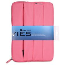 Universal Pink Nylon Tablet Zipper Sleeve Case Cover for Apple iPad Air Mini