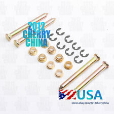 Heavy Duty Door Hinge Pins & Pin Bushing Kit Replacement For Ford F150 F250 F350