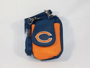 Chicago Bears Purse Plus Touch Phone  ID Wallet Charm 14 Gift Bag Compact