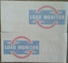 FORD 5000 7000 TRACTOR LOAD MONITOR/DUAL POWER DECAL (PAIR)