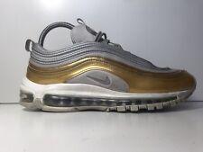 Nike AIR MAX 97 ARGENTO Scarpe da ginnastica oro misura 7 Regno Unito